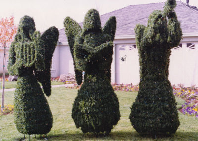 Topiary Angels