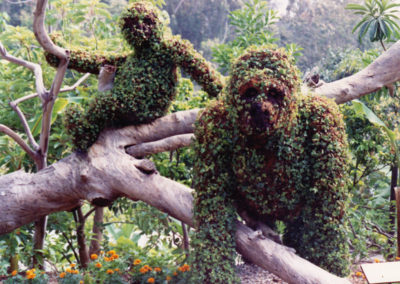 Topiary Apes