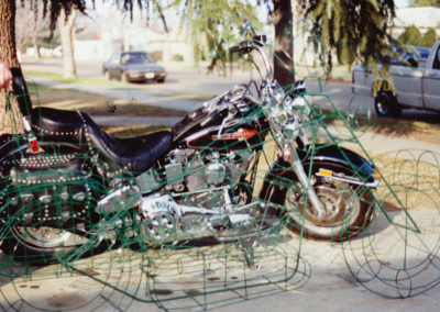 Topiary Motorcycle