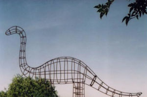 Brontosaurus Dinosaur Topiary