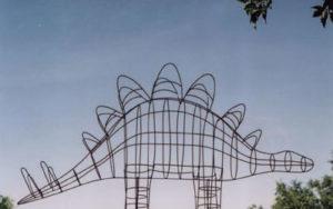 Stegosaurus Dinosaur Topiary