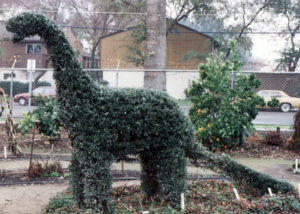Herbie the Topiary Dino