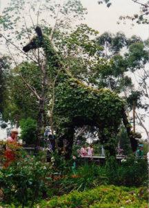 Topiary Giraffe